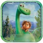 The Good Dinosaur Square Paper Lunch Plates, 8 pcs