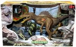 Jurassic Spinosaurus Dinosaur Toy Action Figures Play Set