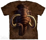 Woolly Mammoth T-shirt Ice Age Animal Prehistoric Pleistocene