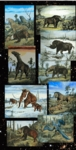 Ice Age Animals Exhibit, 10 Oil Paintings, 90 days