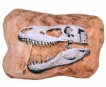T-rex Skull Soft Plush Cushion 16""