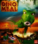 T-rex Dino Meal Dinosaur Game Play Set