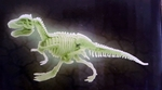 SPECIAL OFFER Glow in The Dark T-rex Skeleton Excavation Kit, 7""