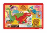 Crocodile Creek T-rex Dinosaur Placemat