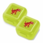 Crocodile Creek T-rex Dinosaur Snack Keeper Set