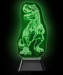 3D T-rex Laser Light Bedroom Decoration