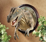 T-rex Wall Mount Head Sculpture 17""