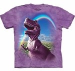 T-rex Happiest Dinosaur T-shirt Youth XLarge
