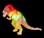 T-rex Toy Flashing & Roaring Dinosaur, 12""