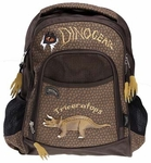 Triceratops Backpack, School Dinosaur Backpack with 3D Triceratops