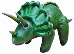 "Large Inflatable Triceratops Dinosaur Blow Up Toys 43"", 6 pcs."