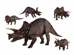 Triceratops Dinosaurs Group Wall Stickers