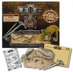 Triceratops Fossil Skeleton Excavation Dig Kit