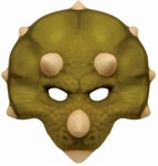 Triceratops Foam Mask