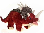 "Triceratops Plush Dinosaur Soft Toy 13"", 4pcs."