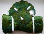Triceratops Sleeping Bag Animal Adventure