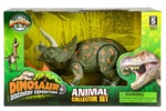 Special Offer: Triceratops Toy Extinct World Articulated Dinosaur Figure 9 inch