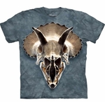 Triceratops Skull Dinosaur T-shirt Youth & Adult