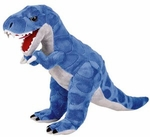 "Large Stuffed T-rex Cuddly Soft Plush Dinosaur Toy 16"", 4 pcs."
