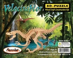 Large Velociraptor Woodcraft Dinosaur Skeleton Kit 19.5""