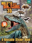 Walking With Dinosaurs 3D Jurassic Stickers Book, 50 Stickers