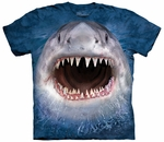 Wicked Nasty Shark Youth & Adult T-shirt