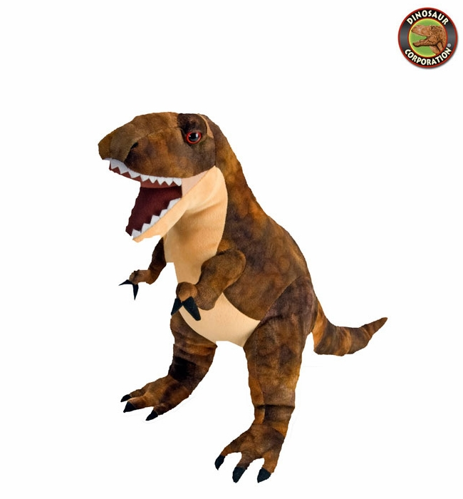 Large T Rex Dinosaur Plush Soft Touch Cuddly Animal Dino Toy 20 Inch