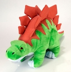 Wild Republic Small Soft Stegosaurus Dinosaur Plush Toy, 10""