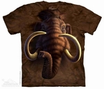 Prehistoric Ice Age Woolly Mammoth T-shirt Adult Sizes