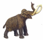 Safari Limited Woolly Mammoth Toy Model Mammal Replica Figure