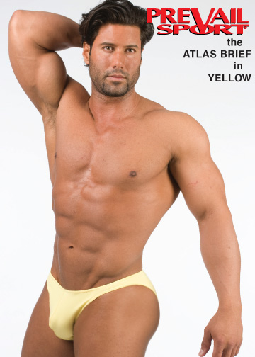 Atlas Brief in Yellow