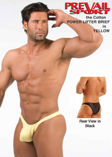 Cotton PowerLifter in Yellow