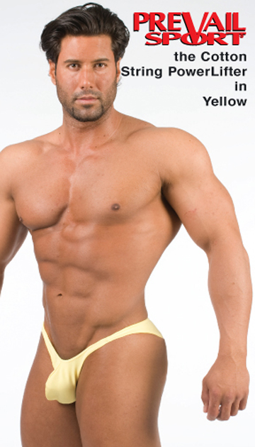 Cotton String Power Lifter Brief