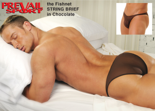 Fishnet String Brief