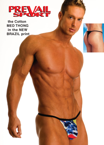 Cotton Med Thong