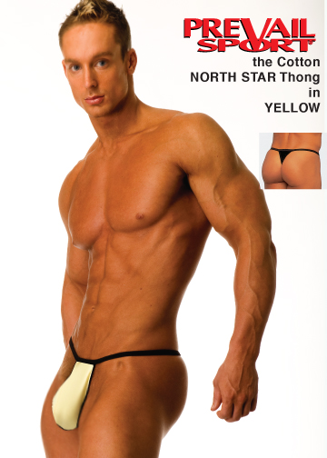 Cotton North Star Thong