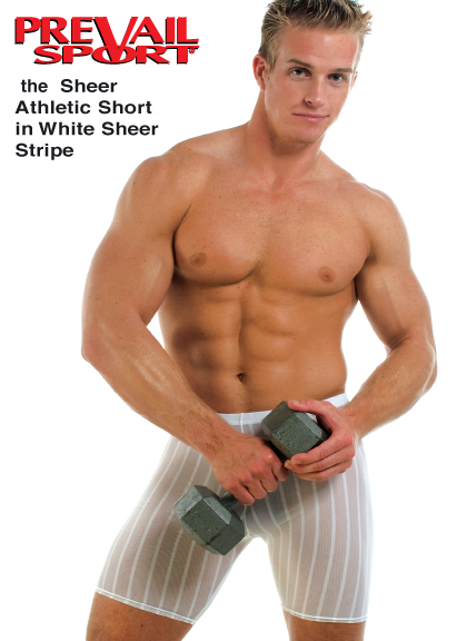 Sheer Athletic Short Brief
