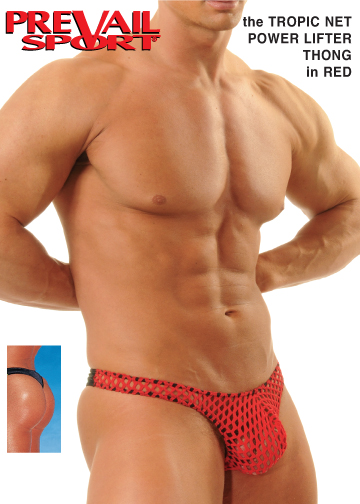 Tropic Net PowerLifter Thong