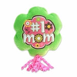 #1 Mom Plush Pick w/Corker Bow