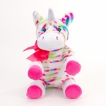 "10"" Eva Rainbow Plush Unicorn"