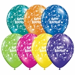 "11"" Birthday Sparkling Latex Balloons"