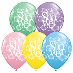 "11"" Heavenly Baby Shower Latex Balloons"