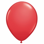 "11"" Red Latex Balloons"