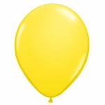"11"" Yellow Latex Balloons"