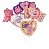 "14"" Mother's Day Air-Filled Shape Balloons"
