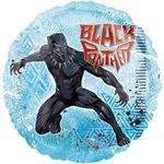 "17"" Black Panther Helium Saver Balloon"