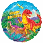 "17"" Dinosaur Party Helium Saver Balloon"