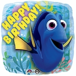 "17"" Finding Dory Happy Birthday Helium Savers Balloon"