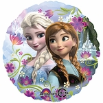 "17"" Frozen Anna & Elsa Helium Savers Balloon"