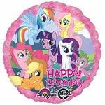 "17"" My Little Pony Birthday Helium Savers Balloon"